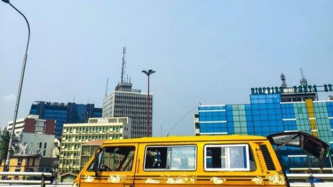 Lagos, capitale du Nigeria.