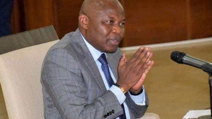 Vital Kamerhe, le directeur de cabinet de Félix Tshisekedi, président de la République Démocratique du Congo (RDC).