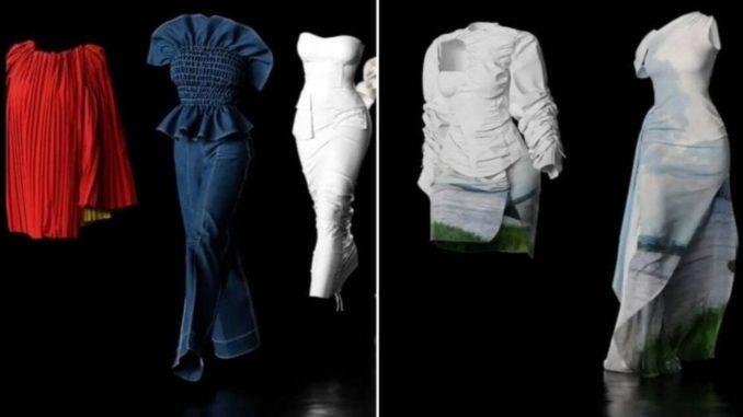 Les mannequins virtuels de la créatrice Congolaise Anifa Mvuemba.